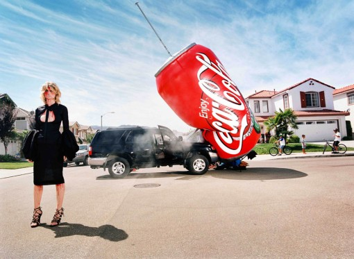 """I drive a big car for all my shopping"" David LaChapelle"