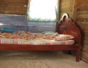 cabana with a real sand floor!