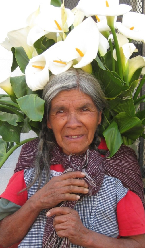 Old Wise Woman in Mexico