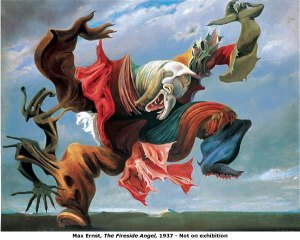 Max Ernst ... used nightmares for inspiration?
