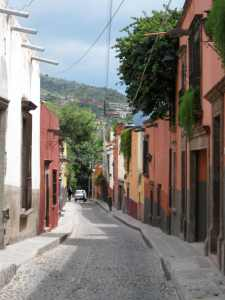 Pretty Mexican Street? No, I hate cobblestones.